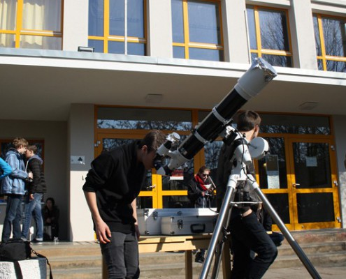 Sonnenbeobachtung_Krea-Gymnasium